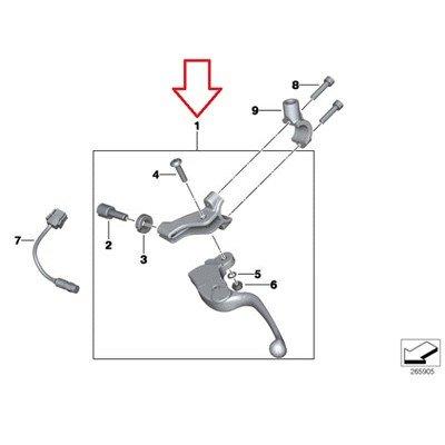 BMW Genuine Clutch Control Adjustable Lever F650CS F650GS F650GS Dakar G650GS G650GS Sertao