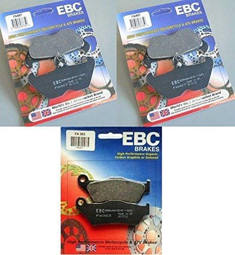 EBC Kevlar Front  Rear Brake Pads 3 Sets 1994-2001 BMW R1100RT  FA407  FA363