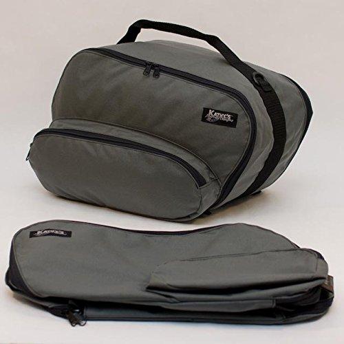 KJD LIFETIME inner saddlebag liners for BMW R1100RT R1150RT R1150RS etc  B11RPgry  Gray