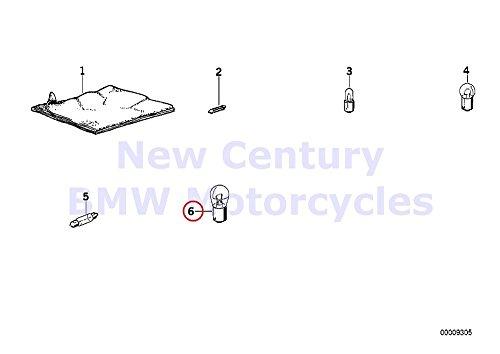 2 x BMW Genuine Motorcycle Light Lamp Bulb P12V 21W R1100GS R1100R R850 R1100RS R1100S R1100RT R1200C R1200 Montauk K1 K100RS K1100LT K1100RS K1200LT K1200RS C600 Sport R1200RT R900RT R1200CL K1200RS