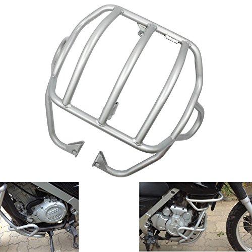 Alpha Rider Silver Crash Engine Protector Bars Guard Cover Case for BMW F 650 GS 1999-2008  F 650 GS Dakar 2000-2007