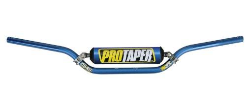 Blue Pro Taper Windham Bend Handlebars with Pad and Keepitroostin Sticker Fits Yamaha Yz125 Yz250 Yz426 Yz400 Yz450 1990-2005