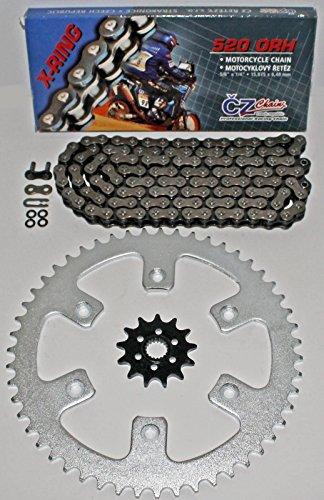 1987-2003 Honda CR125 CZ ORH X Ring Chain Sprocket 1351 114L