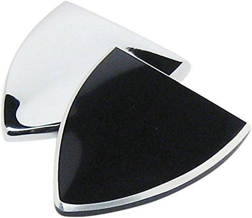 Paul Yaffes Bagger Nation BC-2014-B Gloss Black Bagga Chips Mirror Block Off for 2014-2017 FLHX Street Glide Models