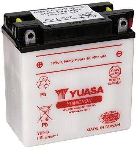 Yuasa YUAM229BY YB9-B Battery