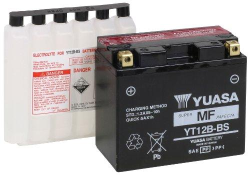 Yuasa YUAM6212B YT12B-BS Battery