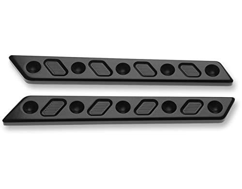 Joker Machine Black Techno Saddlebag Latch Insert 04-505-1