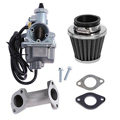 Saihisday VM22 Carburetor Air Filter CARB Kit Repalce for MIKUNI PREDATOR 212GX200GX160HONDA CLONE Drift Trike Mini Bik