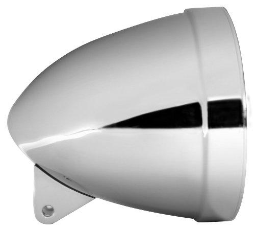 Adjure HB71010 7 Smooth Chrome Ventura Highway Design Motorcycle Headlight Bucket