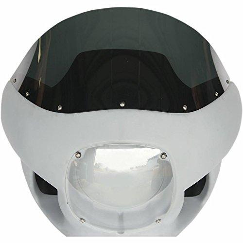 Russ Wernimont Designs 10in Windscreen for Fairing Kit - Dark Smoke RWD50154