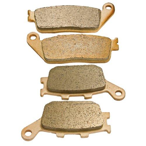 Front and Rear Sintered Brake Pads for Honda VTX 1300 VTX1300 2003 2004 2005 2006 2007 2008 2009 2010 2011