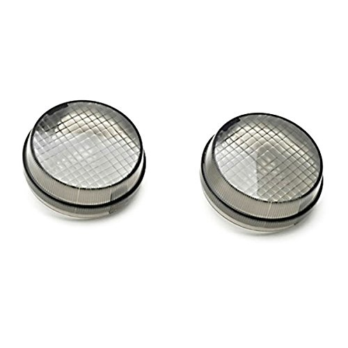 Krator Smoke Turn Signal Lens Lenses Indicator Blinkers For Honda VTX 1300 C R S RETRO