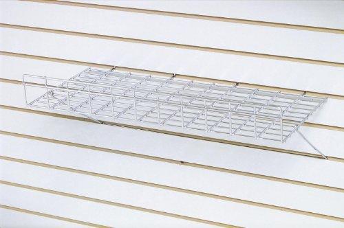 Tucker Rocky 12inL x 8inD Metal Shelf for Slot - Black EBL812