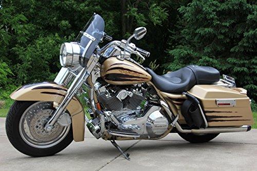 Harley Davidson Road King dark tinted shorty windshield 1425 made of superior quality 7135 makrolan polycarbonate