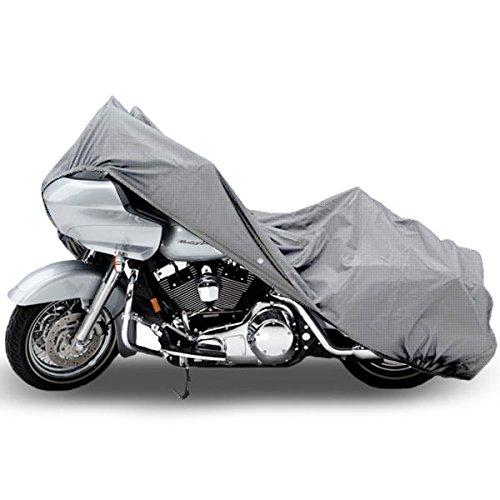 Motorcycle Bike 4 Layer Storage Cover Heavy Duty For Harley Davidson Road Glide Custom