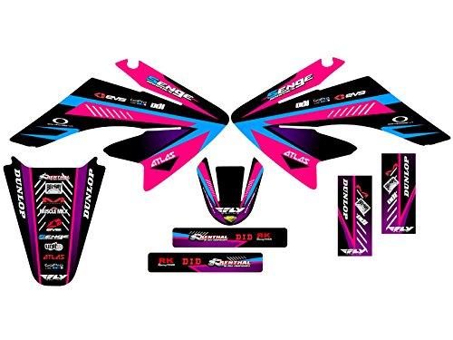Senge Graphics 2004-2013 Honda CRF 70 Surge Pink Graphics kit