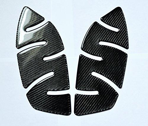 TRIUMPH STREET TRIPLE 675 R ABS Real Carbon Fiber Knee pads grip Tank PROTECTOR trim Stickers