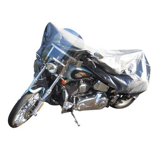 Budge Platinum Motorcycle Cover Medium MC065005002 - Gray Tyvek