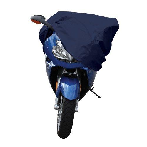 Pilot Automotive CC-6312 Blue Motorcycle Cover Medium