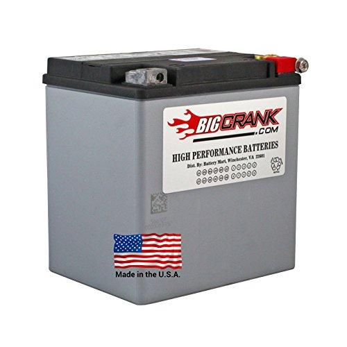 BatteryMart ETX-30L for HD 1997-2013 Touring FLHR FLHRC FLHRS FLHRCI FLHRI Road King Classic Custom 66010-97C