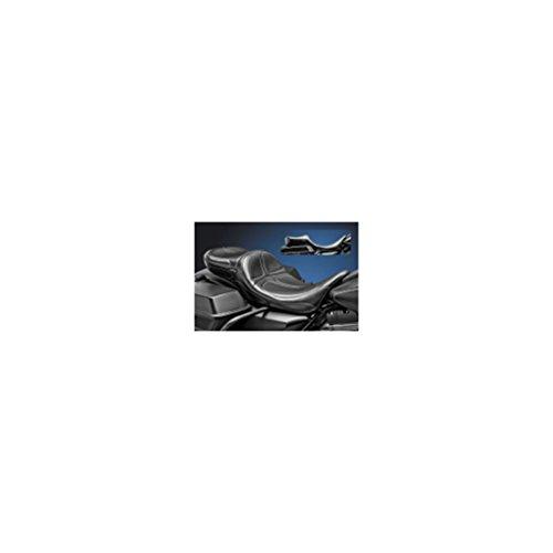 Le Pera Maverick 2 Up Seat Stitch Black for Harley FLHR Road King 2002-2007