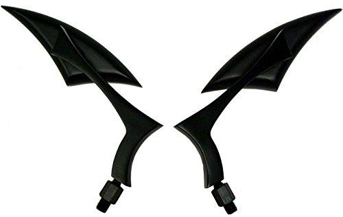 BLACK SPEAR ALUMINUM MINI MIRRORS FOR 2008 Harley-Davidson Sportster 1200 Nightster XL1200N