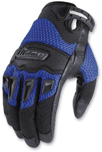 Icon Twenty-niner Gloves (medium) (blue)