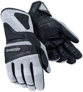 Tour Master Intake Air Gloves - Large/silver