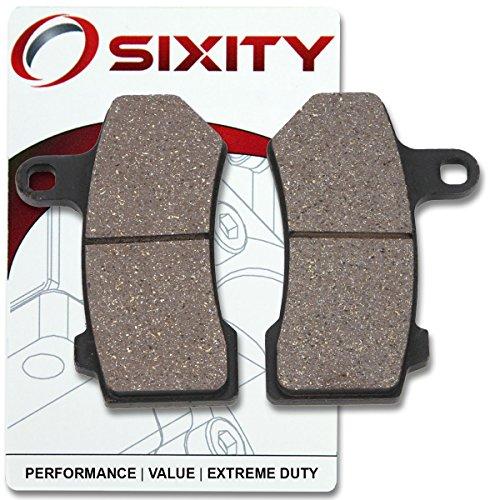Sixity Rear Ceramic Brake Pads 2008-2013 Harley Davidson VRSCDX Night Rod Special Set Full Kit Cast Wheel Complete