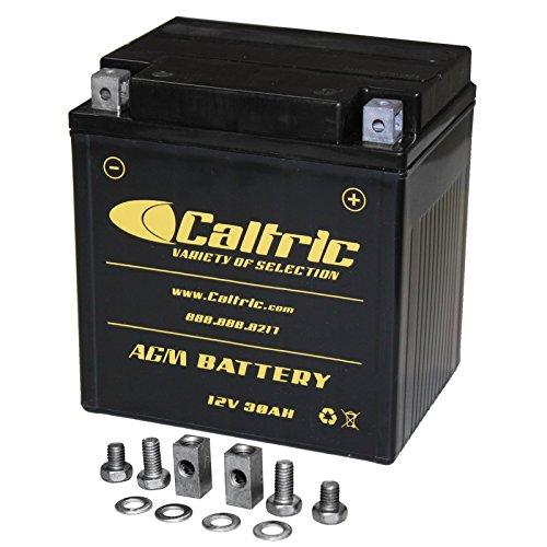 Caltric Agm Battery for Harley Davidson Flhtcu Ultra Classic Electra Glide 2002 2007-2016
