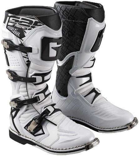 Gaerne G React Boots  Size 13 Distinct Name White Primary Color White Gender MensUnisex XF45-5384