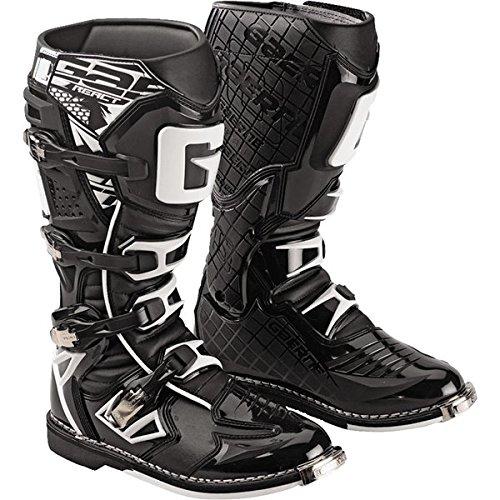 Gaerne G-React MX ATV Motocross Black Boots Adult Size 11