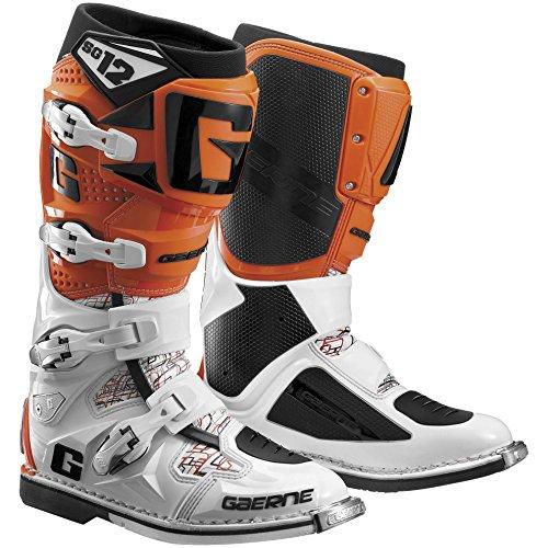 Gaerne SG-12 Boots Primary Color Orange Size 12 Distinct Name Orange Gender MensUnisex 2174-018-12