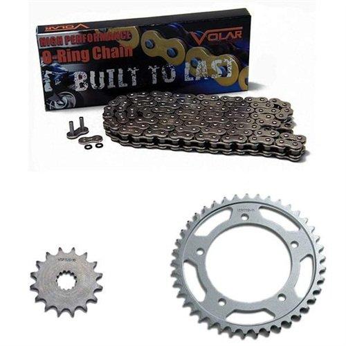 1997-2005 Suzuki Bandit 1200 GSF1200S O-Ring Chain and Sprocket Kit - Nickel