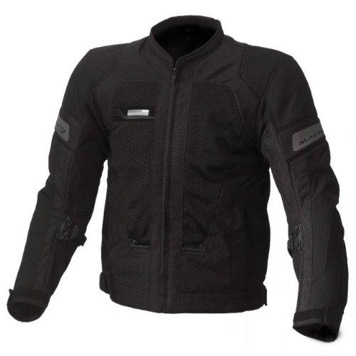 Macna Mens Chili Motorcycle Jacket Gray Medium