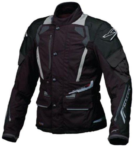 Macna Mens Oasis Motorcycle Jacket Black Small