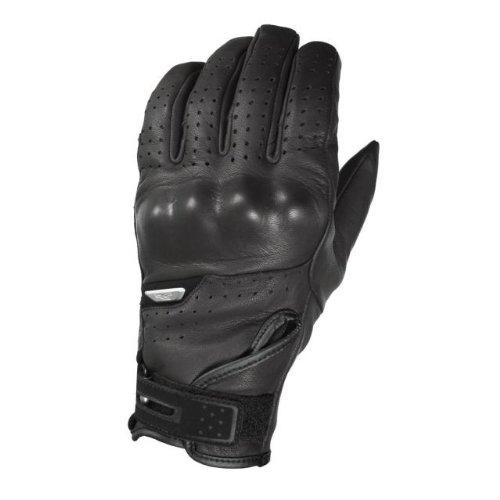 Macna Mens Scalpel Summer Motorcycle Gloves Black X-Large