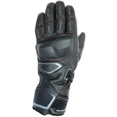 Macna Mens Vantera Waterproof 3-season Motorcycle Gloves Black XX-Large