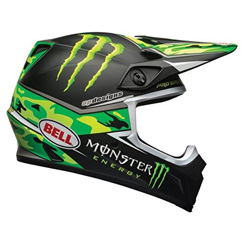 Bell Unisex-Adult Off Road Helmet Pro Circuit Rep Camo Green Large Mx-9 mips DOT certified