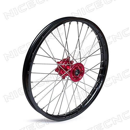 NICECNC 16 x 21 Front Wheel for CR125R250R 1995-2007 CRF250R250X 2004-2015 450R 2002-2015 450X 2005-2015