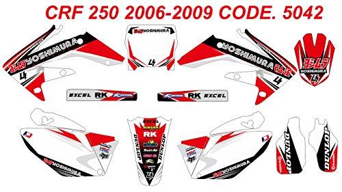 5042 HONDA CRF 250 2006-2009 DECALS STICKERS GRAPHICS KIT