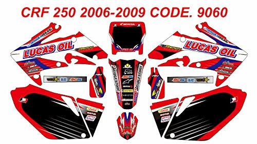 9060 HONDA CRF 250 2006-2009 DECALS STICKERS GRAPHICS KIT