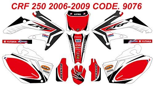 9076 HONDA CRF 250 2006-2009 DECALS STICKERS GRAPHICS KIT