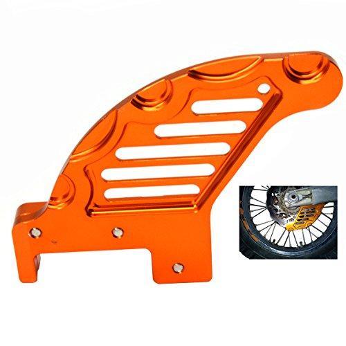 Rear Brake Disc Guard Protector For Husaberg TE 125 250 300 2011-2014 Husaberg FE FS FX 250 350 390 450 501 570 2009-2014 Husqvarna TC FC TE FE 2014-2015 KTM SX XC XC-W EXC 2003-2015Orange
