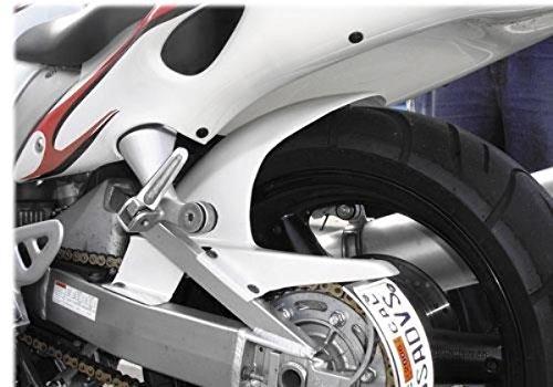 Hotbodies Racing K056R-HG-TIT Raw Titanium ABS Rear Tire Hugger
