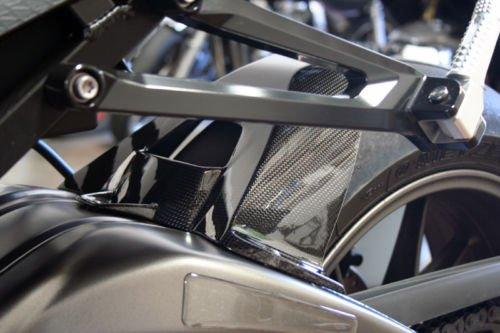 2009 - 2017 BMW S1000RR S1000R Carbon Fiber Rear Tire Hugger Fender Splashguard Mudguard