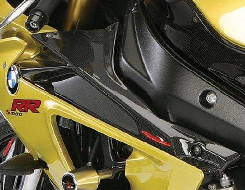 Powerbronze 208-B101-081 carbon fibre dash panels to fit BMW S1000RR pair Carbon Fibre