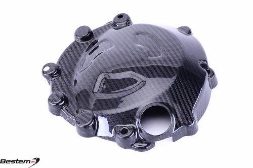 Bestem CBBM-S1K-EGCL-MTR Carbon Fiber Left Racing Engine Cover for BMW S1000RR HP4 2009 - 2014