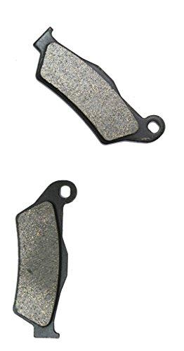 CNBK Front Brake Shoe Pads Resin fit for TM Dirt Bike MX144 MX 144 2T 08 09 10 11 12 13 14 15 2008 2009 2010 2011 2012 2013 2014 2015 1 Pair2 Pads