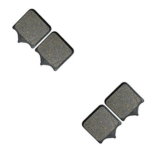 CNBK Front Disc Brake Pads Semi Metallic fit for TM Dirt Bike SMM530 SMM 530 Fi 15 16 2015 2016 2 Pair4 Pads
